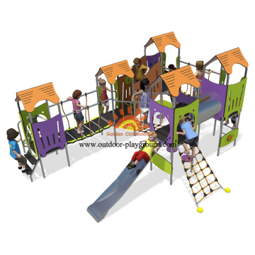 playground children slide outdoor kids play equipment