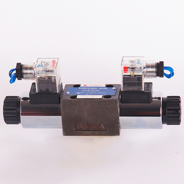 Solenoid Oil Fluid High Pressure Directional Valve