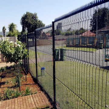 Galvanized Garden 358 High Security Anti-climb Fence