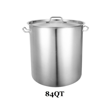 84QT Stainless Steel Stock Pot Kettle