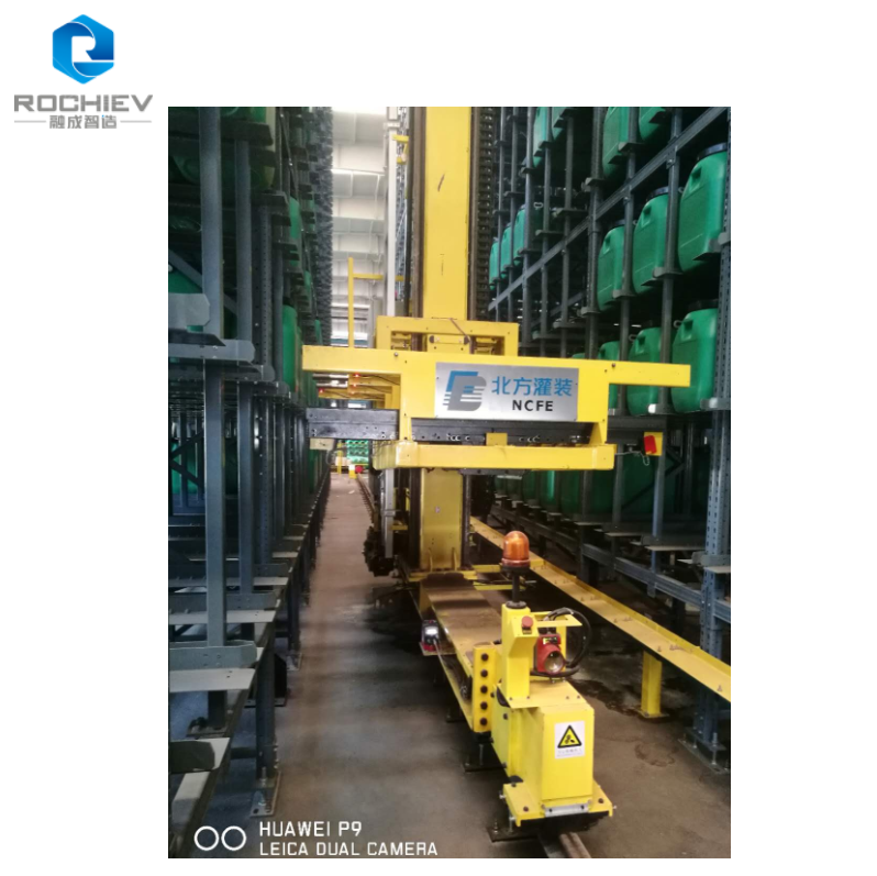 Stacker Cranes for Pallet Warehouses