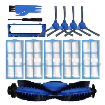 Rolling Brush Side Brushes Filters Cover Cleaning Brush For Bagotte BG600 BG700 BG800 Robotic Vacuum Cleaner Replacement Kit New