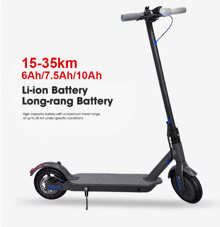 H7 Electric Scooter Blue 10