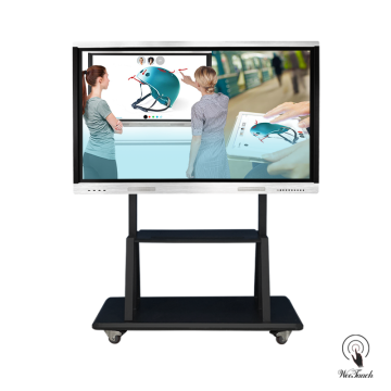 Weetaach 65 Inches Touch Whiteboard With Mobile Stand