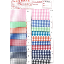 Elastic small plaid fabric A series