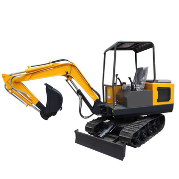1.5 Mini Digging 3.5ton Red Hydraulic Joystick Trench 1.0 Ton Excavator
