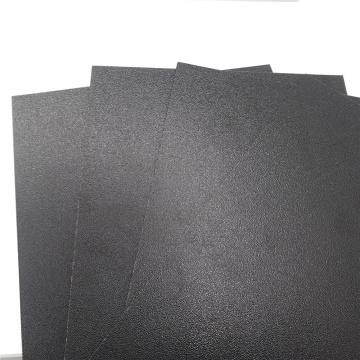 Black  ABS Haircell sheet ABS Matt sheet