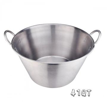 41Quart Stainless Steel Large Cazo with Sandwich Bottom