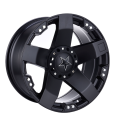 5 Spoke Offroad Rim 20X9 Matt Black