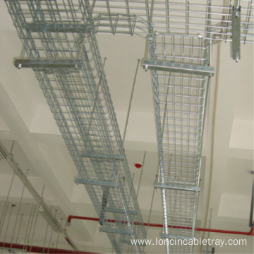 Hot dip galvanized aluminum alloy mesh cable tray
