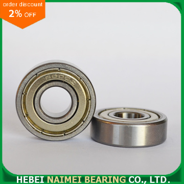 Cheap price chrome steel 6001-zz seals ball bearing