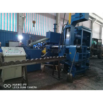 Horizontal Automatic Scrap Briquette Press for Steel Chips