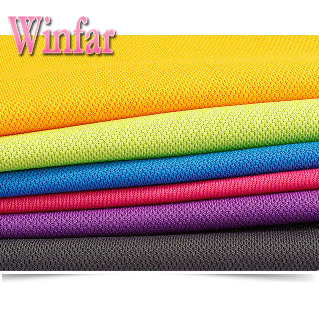 100% Polyester Polo Knitted Pique Fabric