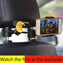 2018 NEW!! Car Rear Seat Mobile Phone Bracket Rear Car Phone Universal Bracket Head Pillow Back Hook Mobile Phone Holder