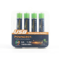 1665mWh AA Battery For Sale