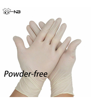 Non sterile latex exam gloves/disposable gloves