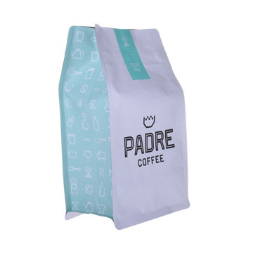 resealable wholesale zipper plastic coffee packaging bags