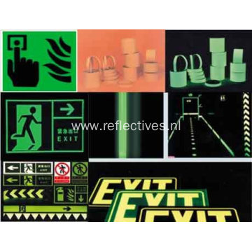 Acrylic Photoluminescent Film for Traffic Sign