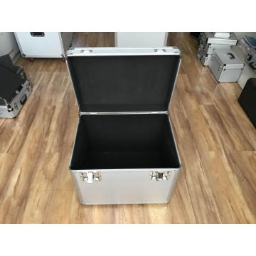 Empty Aluminum Storage Box with EVA Lining