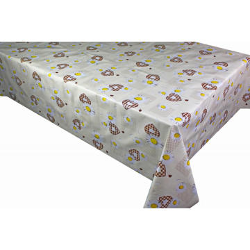 Pvc Printed fitted table covers Factory