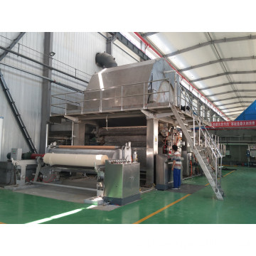 Machine For Producing Toilet Tissue Paper