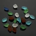 Hot Sale 20Pcs Mixed Color Bulk Sea Glass Ornaments For Terrariums Aquariums Vase Bonsai Microlandschaft Decor Craft 1-1.6cm