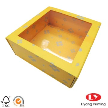 Color Printed Magnetic Foldable Storage Paper Gift Box