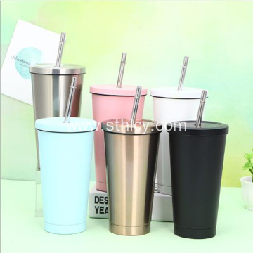 Hot Sale Fashion 304 Stainless Steel Straw Cup