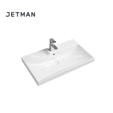 Ceramic bathroom porcelain sink