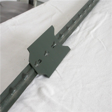 Free samples metal studded T bar fence post
