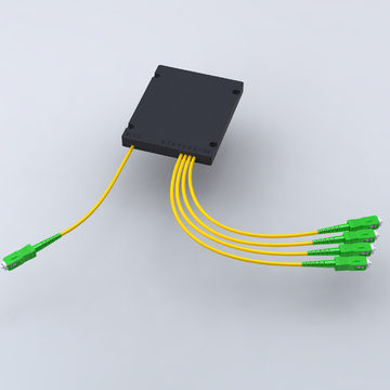 1:4 PLC splitter with SC APC connector