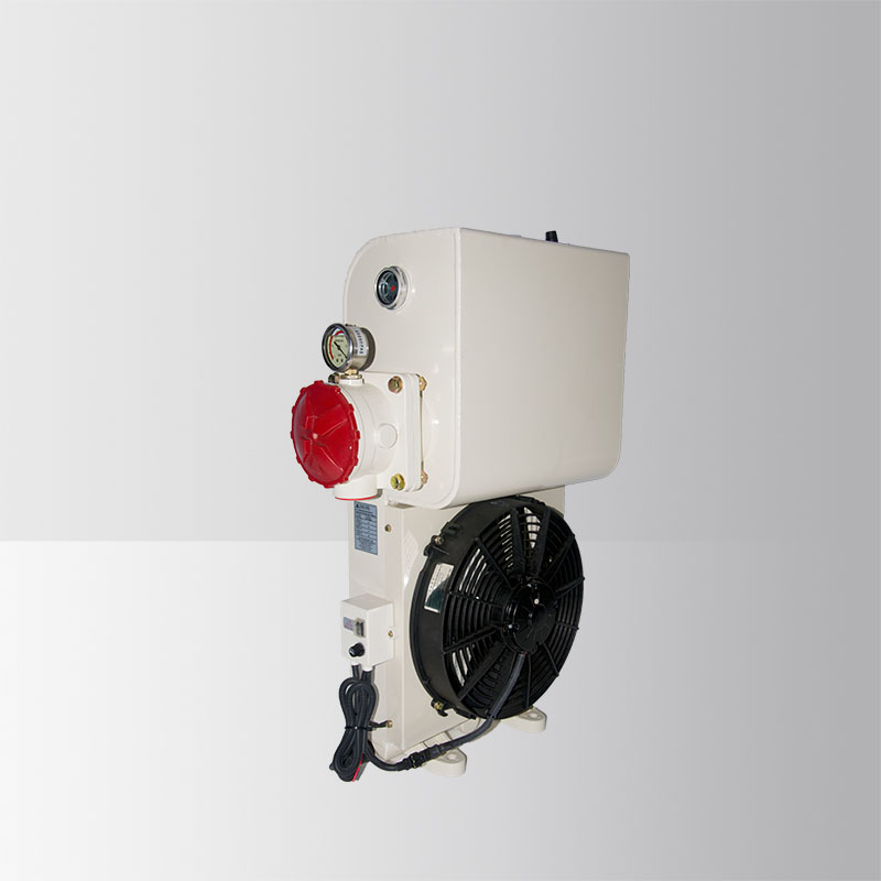 Concrete Mixer Truck Oil Radiator