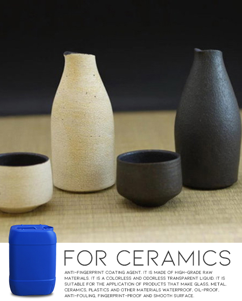 Colorless Coating for Ceramics