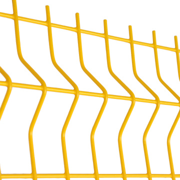 cheap curved welded bending wire mesh metal fencing