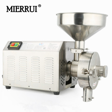 Hot sale Herb Mills household/commerical stainless steel high power electric spices/ soybean/grain barley crusher