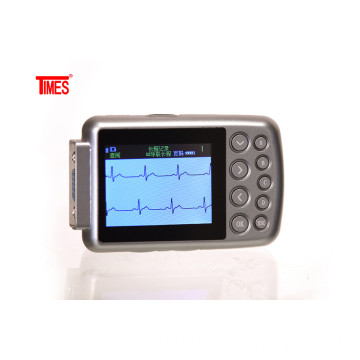 12-lead 24 hours Holter with colour screen