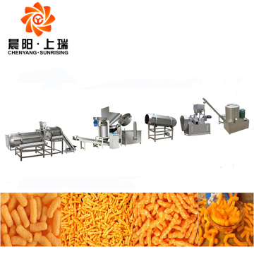 Nik naks chips machine kurkure processing line price