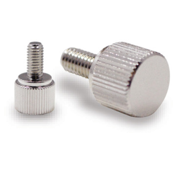 Custom Stainless Steel Thread knurled Screw