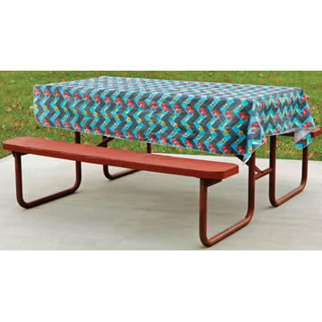 Pvc Printed fitted table covers Runner Christmas Pvc
