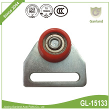 Curtain Net Hanger Roller With Tapered Wheel Red