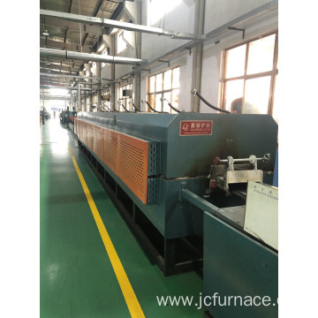 No muffle mesh belt quenching furnace