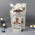 custom pet feed packaging stand-up for cat-litter-packaging