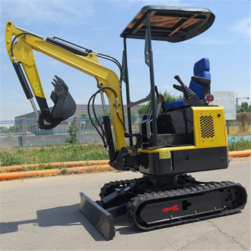 small  cheap mini digger hydraulic excavator