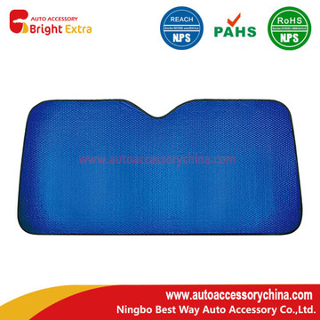 Vehicle Windshield Sun Shade Blue