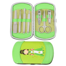 Lovely Japanese Doll 7 pcs Nail Manicure Set