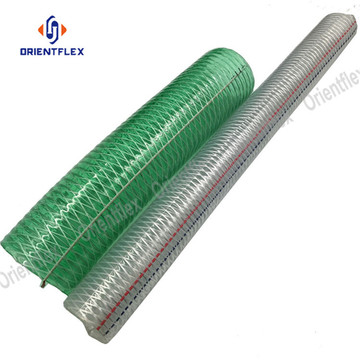 "10"" high compression steel wire reinforced hose"