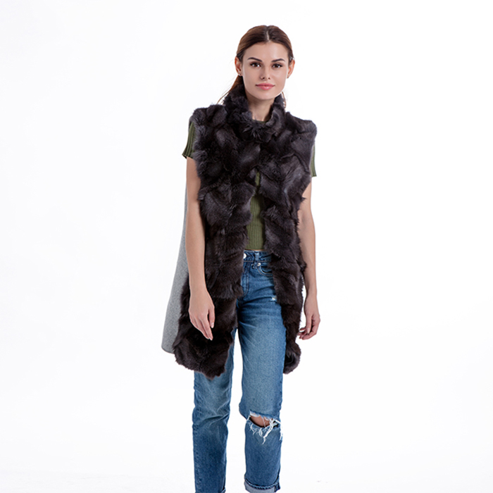 Beautiful Fur and Cashmere Vest