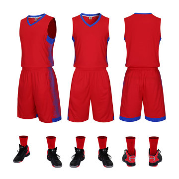 2019 Nieuw design basketbaluniform
