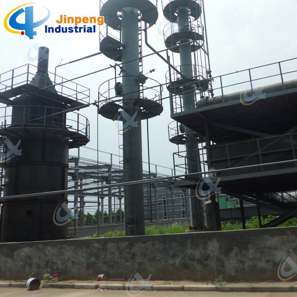 Continuous Waste Rubber Oil Refining Equipment to Diesel