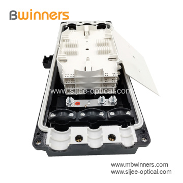 24-144 F Waterproof Fiber Optic Joint Splice Closure Enclosure